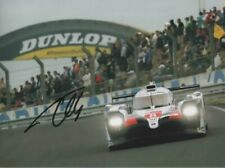 Fernando Alonso signed photo. Winner 24h of Le Mans 2019.  COA. 15X21