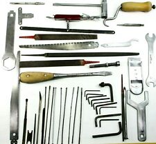 Vtg Tools Lot Of 45 Files Saw Blades Etc