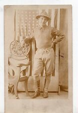 Great Vintage Photo of Spanish-American War Soldier