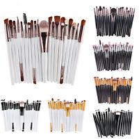Hot 20Pcs Pro Makeup Set Powder Foundation Eyeshadow Eyeliner Lip Cosmetic Brush