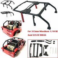Wheelbase Jeep Wrangler Body Shell Roll Bar Set for 1/10 RC Axial SCX10 90046