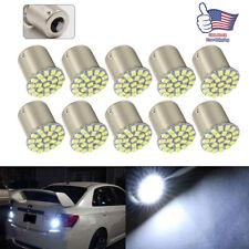 10Pcs LED Car Bulb 1156 BA15S 1206 22SMD Light Brake/Turn/Tail/Revese Lamp White