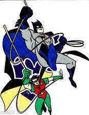 "New listing 10"" Batman robin comics super hero fabric applique iron on character"