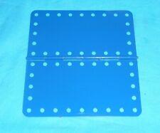 meccano 1 plaque à chanière No198, bleue