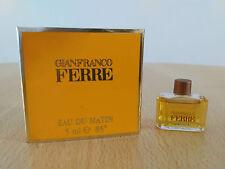 Gianfranco Ferre Eau Du Matin Women 5ml EDT MINI MINIATURE PERFUME New w/ Box