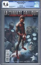 Ultimate Fallout #4 CGC 9.6 Second Printing 1st App of Miles Morales