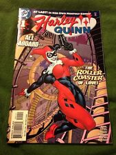 Harley Quinn #1 All Aboard Roller Coaster Of Love Dec '00 DC