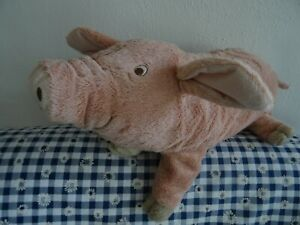 IKEA SCHWEIN Knorrig Wutz Stofftier Glücksschwein 40 cm Plüschtier Stofftier