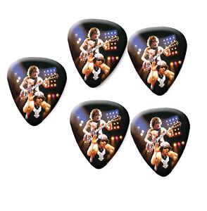 AC/DC Band printed plectrum guitar pick picks x5 AC #3