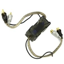 60 Amp Ground Loop Isolator Noise Filter 2-Channel Gold-Plated RCA Connections