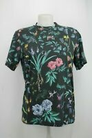 Paul Smith Black Floral Print T-Shirt Size Small
