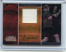 2007 DONRUSS AMERICANA #SL-5 JIM COURIER RELIC CARD #357/500, TENNIS