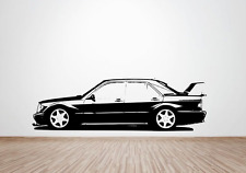 Mercedes 190E Evolution 2 2.5-16 wall art decal / sticker. (cosworth)
