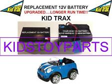 MINI COOPER LONG LASTING OEM REPLACEMENT KID TRAX 12 VOLT RECHARGABLE BATTERY