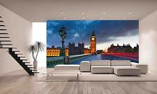 BIG BEN AT NIGHT Wall Mural Photo Wallpaper GIANT DECOR Paper Poster Free Paste
