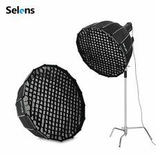 Selens Deep Parabolic Softbox Umbrella Diffuser Flash Reflector w/ Bowens Mount