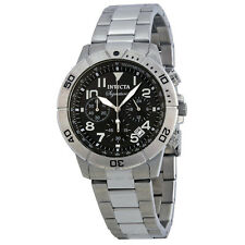 Invicta Signature II Chronograph Tachymeter Stainless Steel Mens Watch 7349
