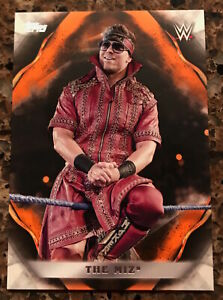 2019 WWE TOPPS UNDISPUTED THE MIZ SER# 40/99 ORANGE PARALLEL #69! MINT RARE!