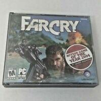 FARCRY PC 5 CD-ROM Game Big Box 2004 Ubisoft CIB Complete