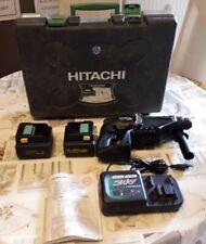 Akku Bohrhammer DH24 DV Hitachi 24 V mit Ladegerät / 2 Akku / Koffer