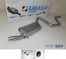 IMASAF Auspuff Endtopf + Anbauteile Ford Escort III + IV 1.6 RS Turbo 1984-1990