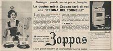W1777 Cucina mista ZOPPAS - Pubblicità del 1958 - Vintage advertising