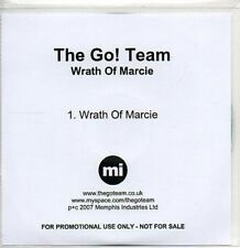 (AA572) The Go! Team, Wrath Of Marcie - DJ CD