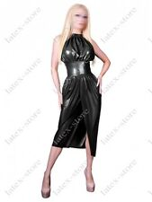5071 Latex Rubber Gummi evening Dress Skirts customized sexy 0.4mm party catsuit