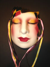 ABOUT FACE Division of Clay Art Mardi Gras Avant-garde Deco Air Brush SEXY Women
