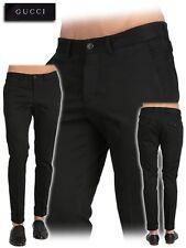 Gucci Runway RIDING Web Detail Pants Trousers Pantaloni 44 IT Rarest!MadeInItaly