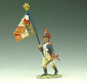 KING & COUNTRY THE AGE OF NAPOLEON NA033 FRENCH 3RD LINE INFANTRY FLAGBEARER