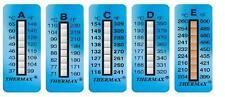 Termometro adesivo reversibile Thermax  range 90-120 C°  confezione 10 pezzi