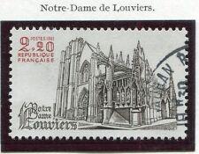 TIMBRE FRANCE OBLITERE N° 2161 NOTRE DAME DE LOUVIERS