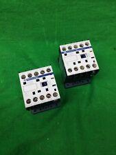 *LOT OF 2* TELEMECANIQUE CA3KN31BD3 CONTROL RELAY 600V 24VDC 10A