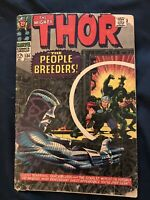 THOR #134 (1966) KEY ISSUE: 1st appearance High Evolutionary, Around G-