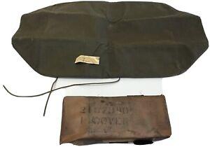 WW2 CCKW G508 Canvas Bottom Seat Cushion Cover N.O.S Pair 2