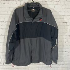Harley Davidson Full Zip Riding Rain Jacket Windbreaker Mens XXL 4 Zip Pockets