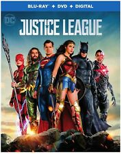 Justice League (Blu-ray + DVD + Digital, 2018) w/ SLIP COVER *** NEW** SEALED