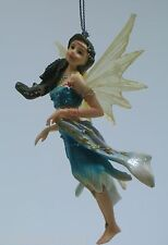 "Retired Faerie Glen ""AQUANISE"" Fairy Ornament FG5828 Brand New in Box w/Tag"