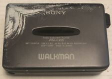 Vintage Sony Walkman Wm-Fx55 W/ Directions Not Working For Parts or Repair