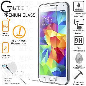 Genuine Gorilla Tempered Glass Film Screen Protector For Samsung Galaxy S5 Neo