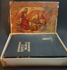Holy Bible The Good Leader Tabbed Red Letter Reference Authorized KJV 1946 Box