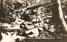 RPPC,Cazadero,California,Creek Scene,Sonoma County.Used,1921