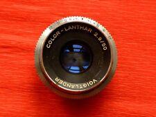VOIGTLANDER COLOR LANTHAR 2.8 / 50 mm pour BESSAMATIC ou ULTRAMATIC