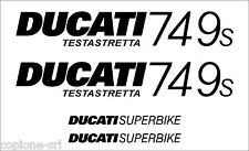 Kit Adesivi DUCATI 749 S e SuperBike