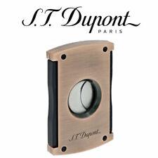 NEW Genuine ST Dupont - Maxijet Cigar Cutter - Vintage Brushed Copper 003421