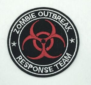 Zombie Outbreak Response Team Embroidered Patch Iron/Sew-On Applique
