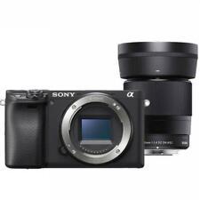 Sony Alpha a6400 Mirrorless Digital Camera with Sigma 30mm F1.4 DC DN Lens