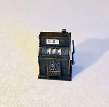 Vintage Die-Cast Metal Miniature Pencil Sharpener- Golden Eagle Slot Machine
