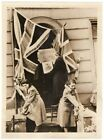 1943 Family Preparing Welcome For POW Captured at Dunkirk Original News Photo